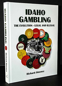 color picture of Idaho Gambling hard case book